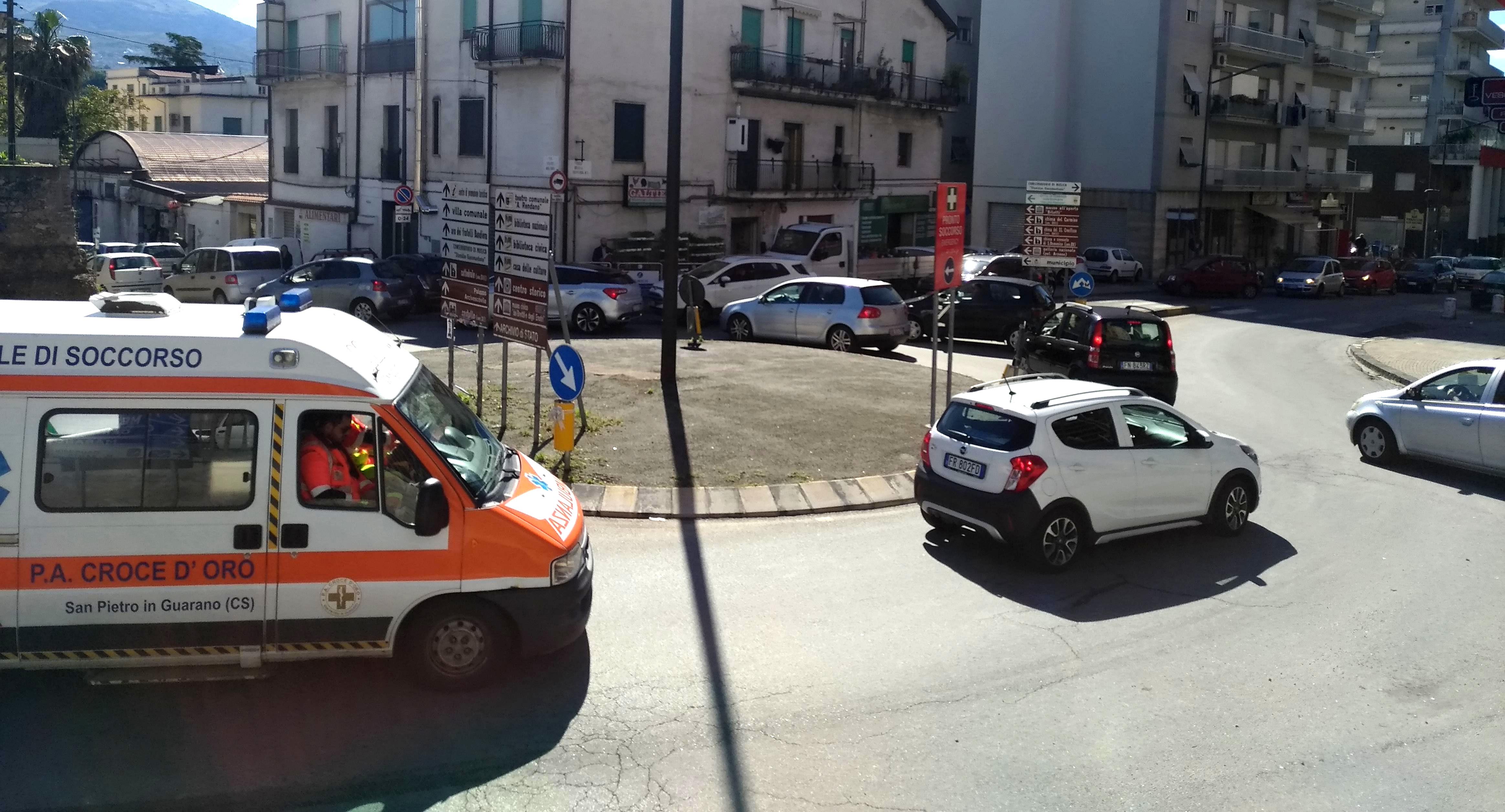 Rilievo Cosenza Ospedale 7-5-2019